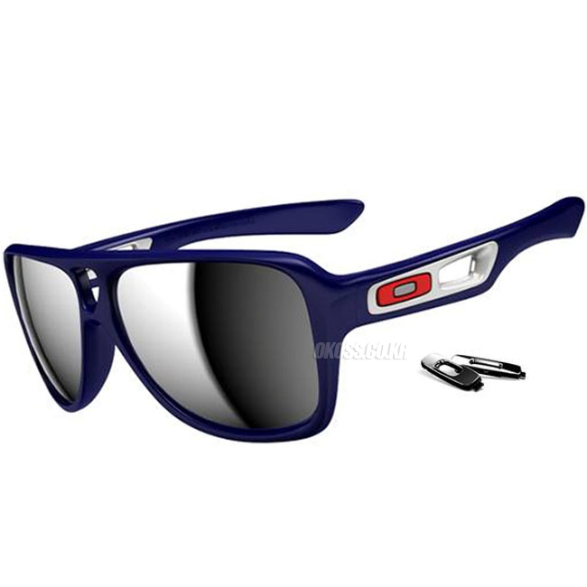 오클리 선글라스 디스패치 II OO9150-02 OAKLEY DISPATCH II POLISHED NAVY/CHROME IRIDIUM